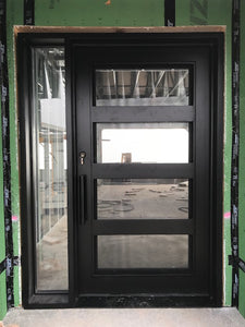 single door with sidelites 13