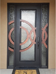 iron single door with sidelites 02