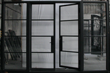 French double door with 2 side lites Right Inswing