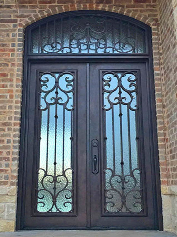 double door with transom 03
