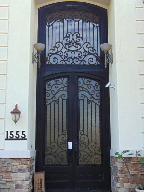 double door with transom 005