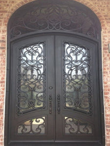 double door with transom 08