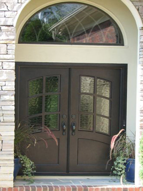 double door with transom 017
