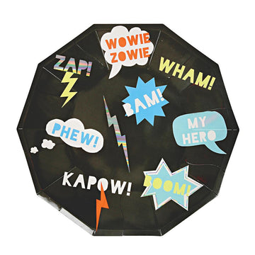 Zap! Large Paper Plate