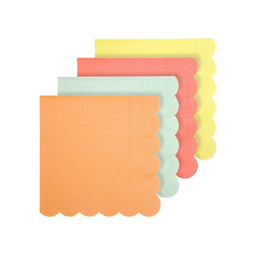 Neon Cocktail Paper Napkins