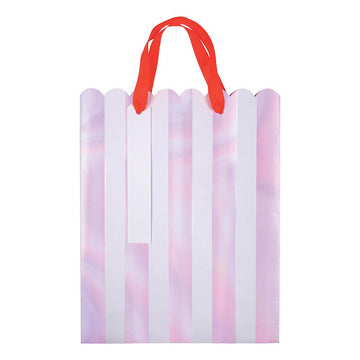 Iridescent Stripe Gift Bags