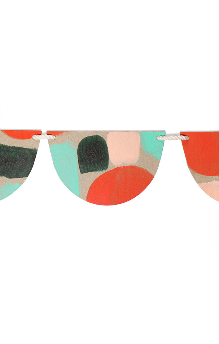 Hand Painted Party Bunting