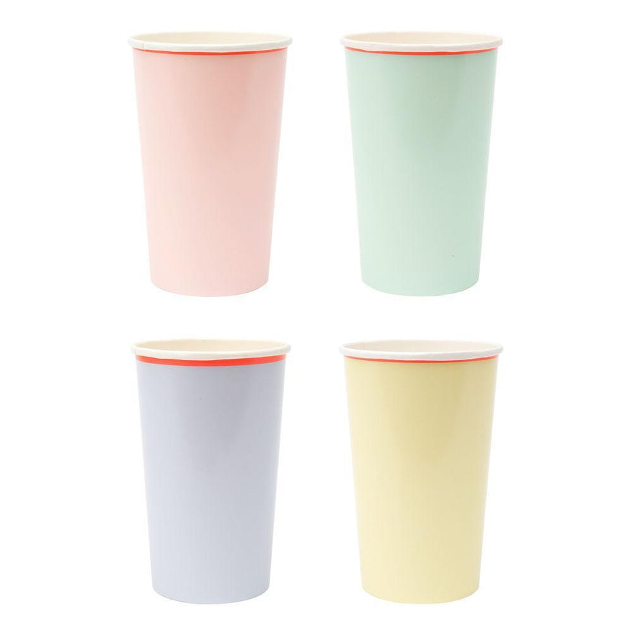Pastel Highball Paper Cups