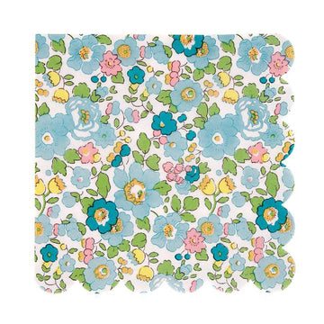 Liberty Green Cocktail Paper Napkins