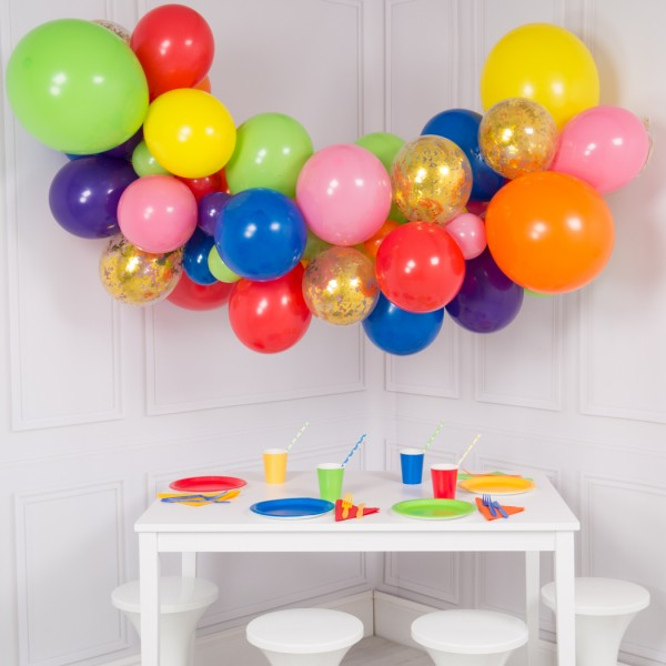 Rainbow DIY balloon kit