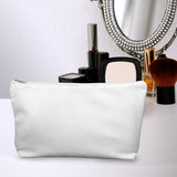 Poly Linen Make Up Bag Mock Up