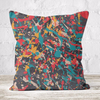 Faux Suede Throw Cushion Double Sided Print (Cover Only)