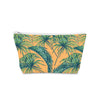 Poly Linen Make Up Bag 21 x 14cm