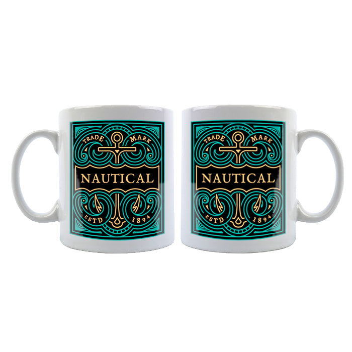 Ceramic Mug 11oz - Separated Design Areas