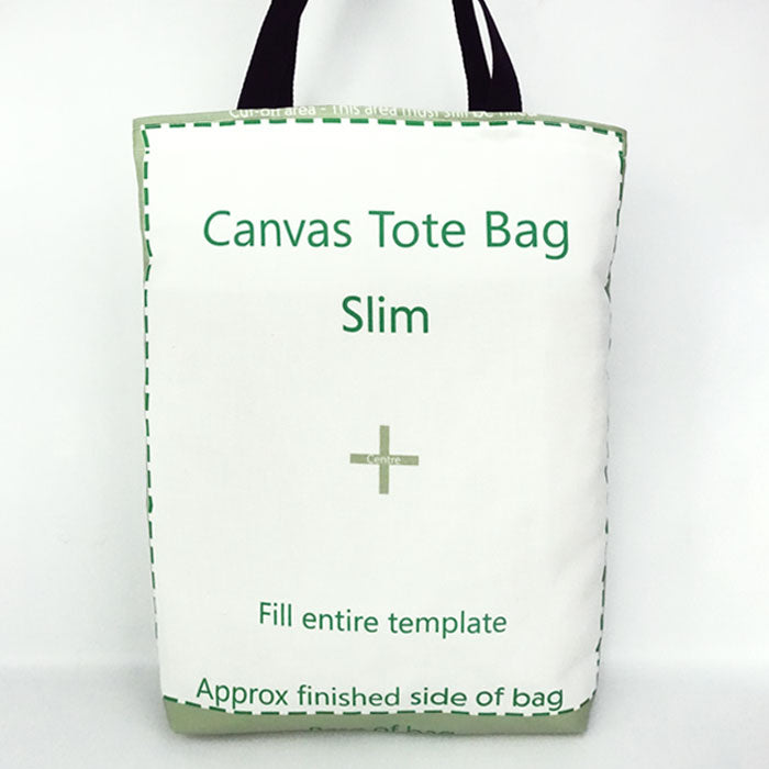Poly Canvas Tote Bag 47 x 35cm All Over Print