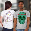 Bella Canvas Unisex Crew Neck T-Shirt Front & Back Print