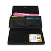 Ladies 3 Fold Purse With Zip & Card Card Holders