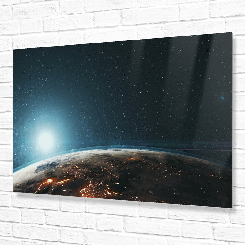 Metal Wall Prints High Gloss Landscape