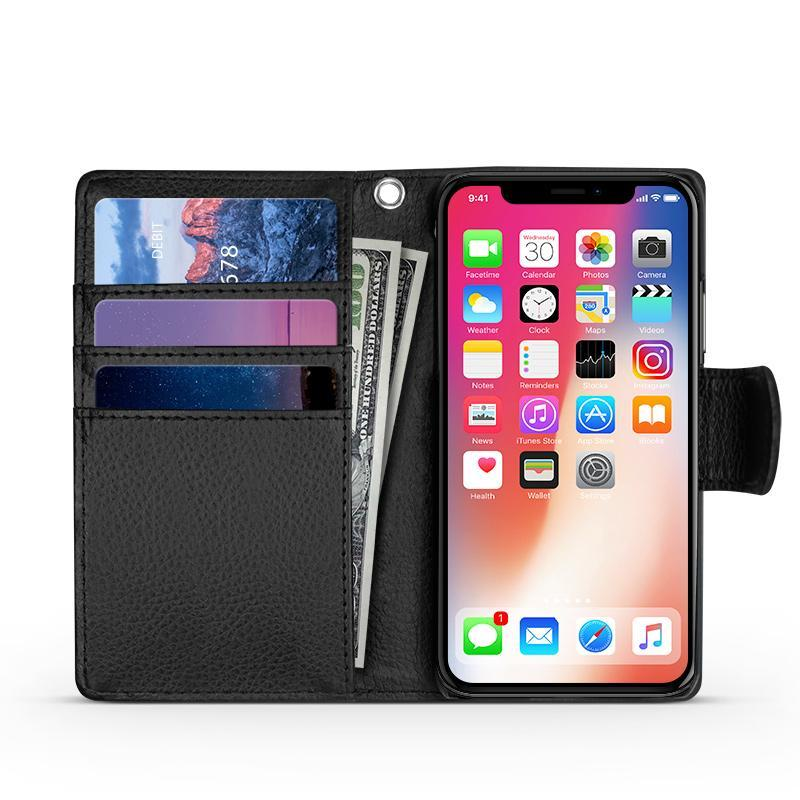 iPhone 12 Pro Max Wallet Case with C/C Slots