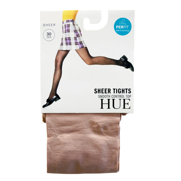 HUE Sheer Tights with Control Top - 30 Denier