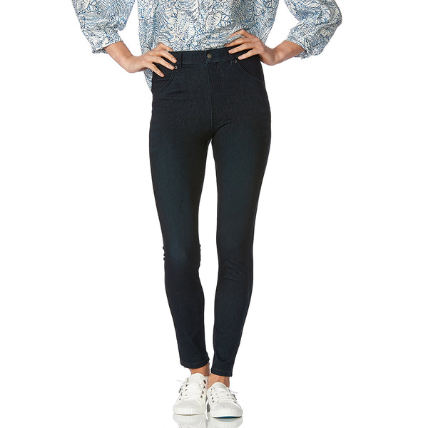 HUE Ultra Soft High Waist Denim Legging