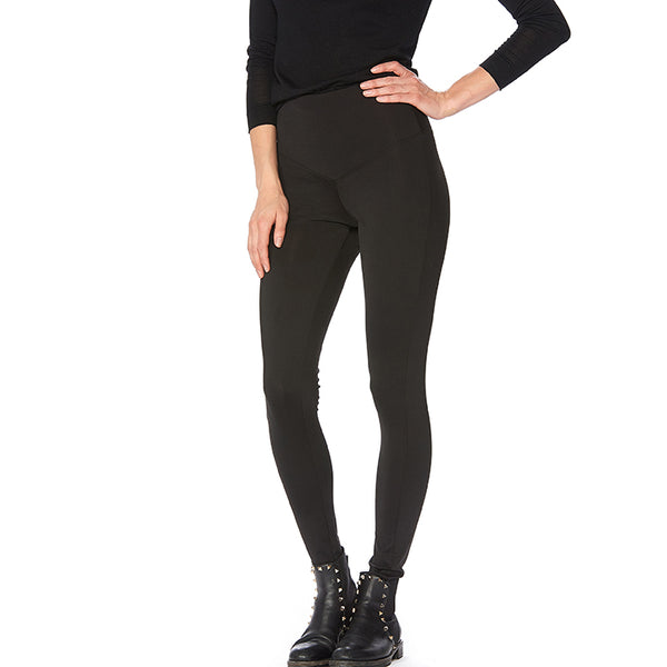 HUE Tummy Control Super Smooth High Rise Leggings