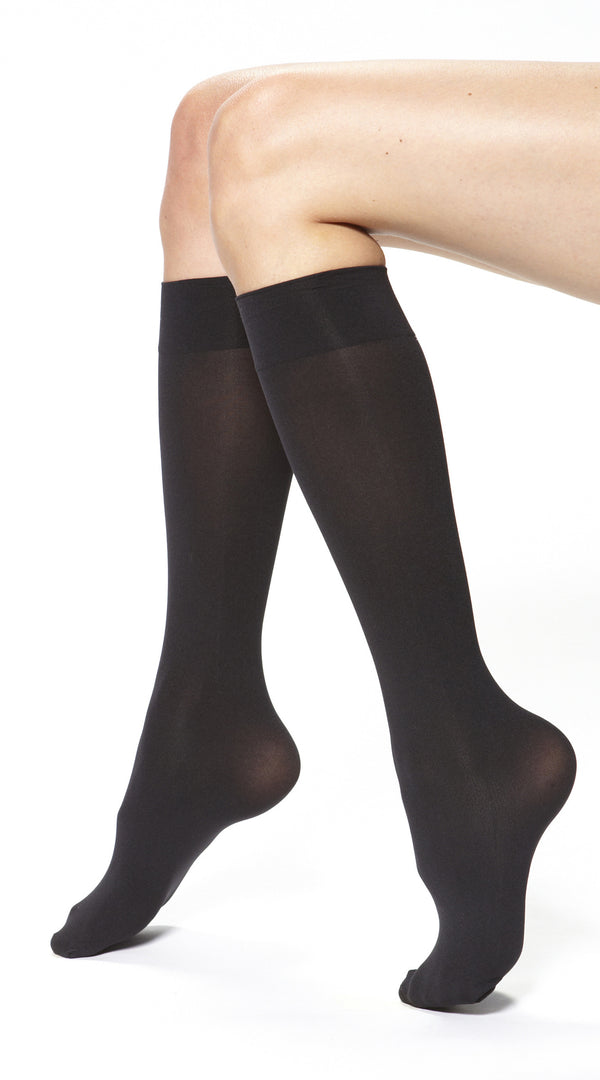 Soft Opaque Knee High