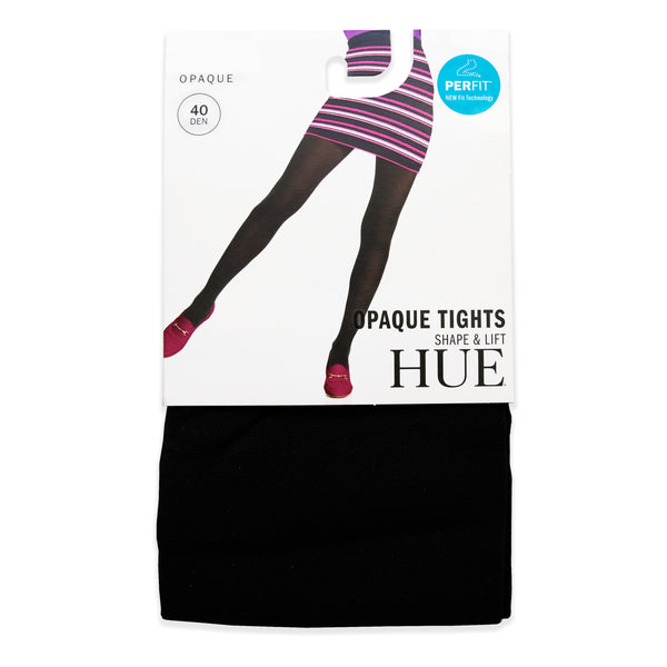 HUE Shaper Opaque Tights - 40 Denier