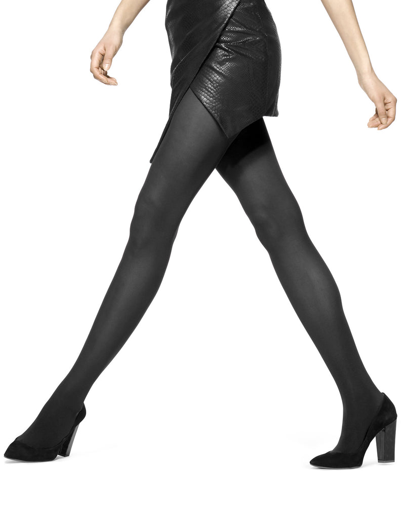 HUE Opaque with Control Top Tights - 40 Denier