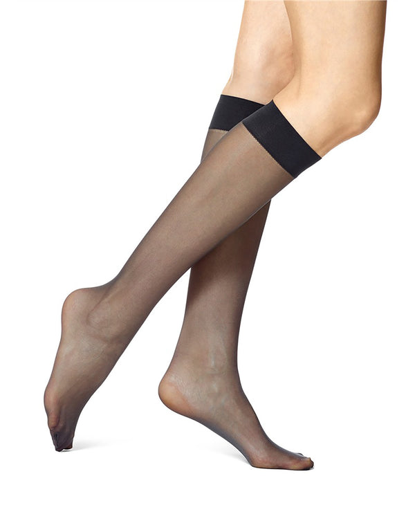 HUE Sheer Knee High