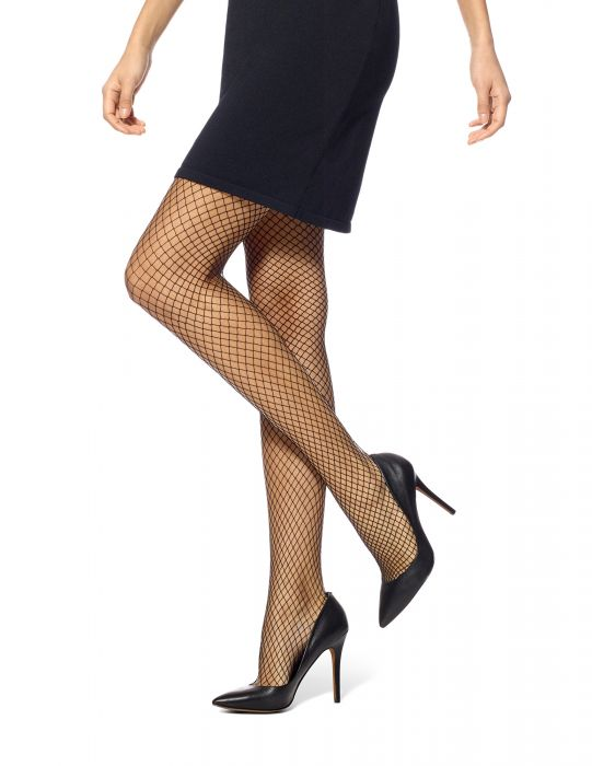 HUE Petite Fishnet Tights
