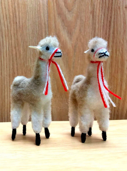 Alpaca Fur Figures