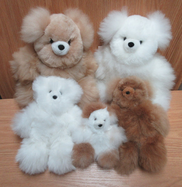 Alpaca Fur Teddy Bears