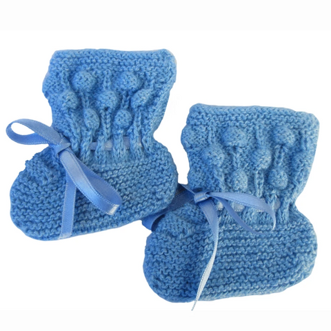 Bubble Baby Booties (3 Colors BB214)