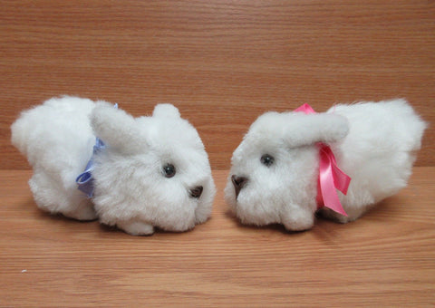 Baby Alpaca Fur Bunnies- 6 inches (AFBUN103)