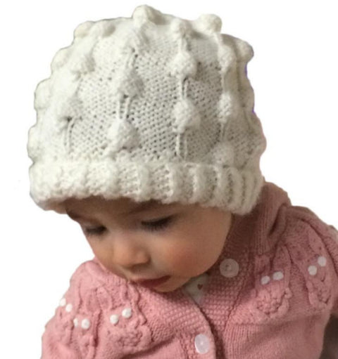 Bubble Design Baby Hat (3 Colors, BBH220)
