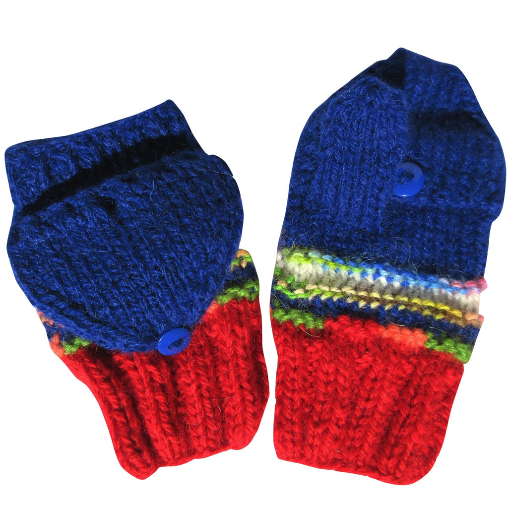 Alpaca, Alpaca Gloves, Hand-Knitted Toddler Glittens (CHG101), Alpaca Products, Hypoallergenic, Apparel, Alpaca Clothing