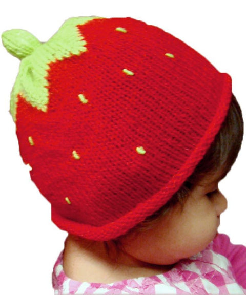 Strawberry Design Baby Hat (BBH219)