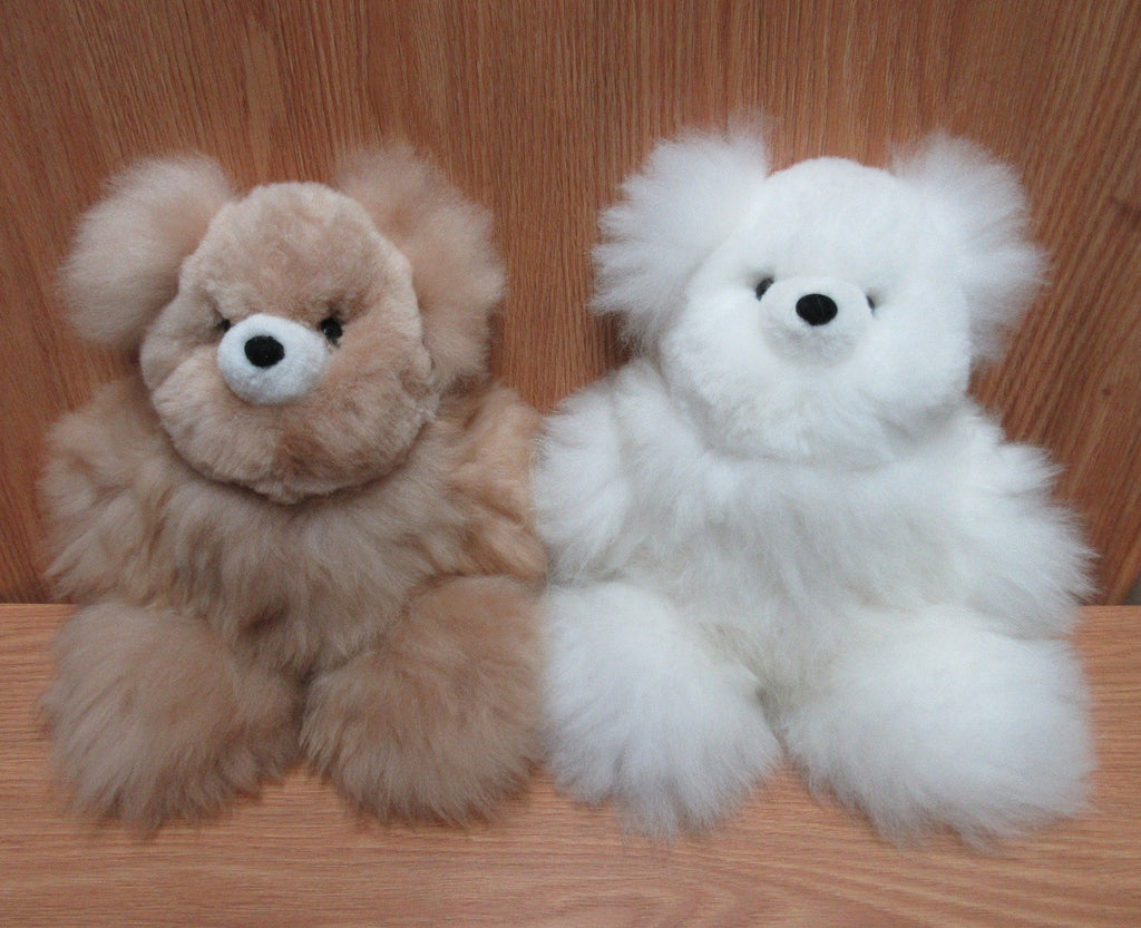 Alpaca Fur Teddy Bear- 11 inches (AFTB11)