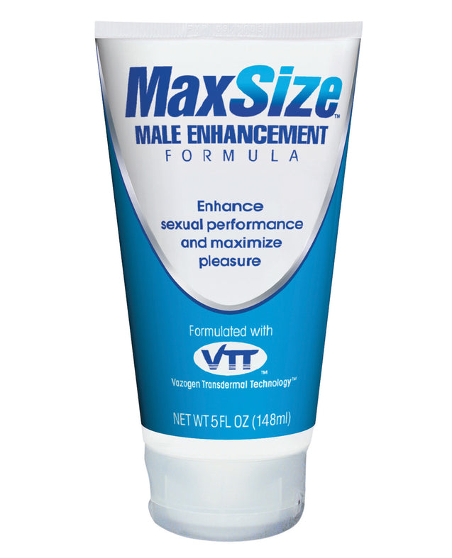 Max Size Male Enhancement Cream - 5 oz Tube