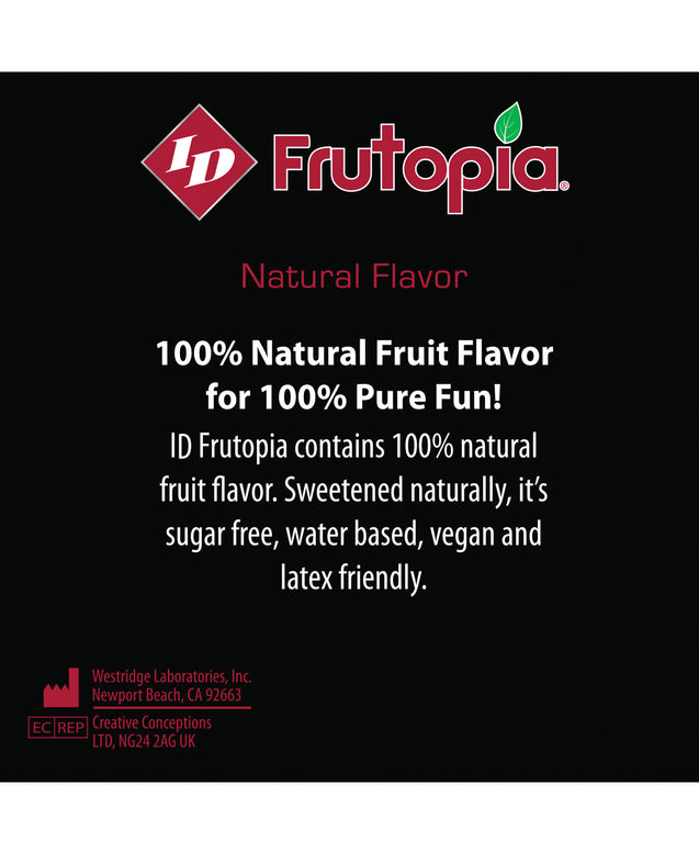 ID Frutopia Natural Lubricant - 3.4 oz Cherry