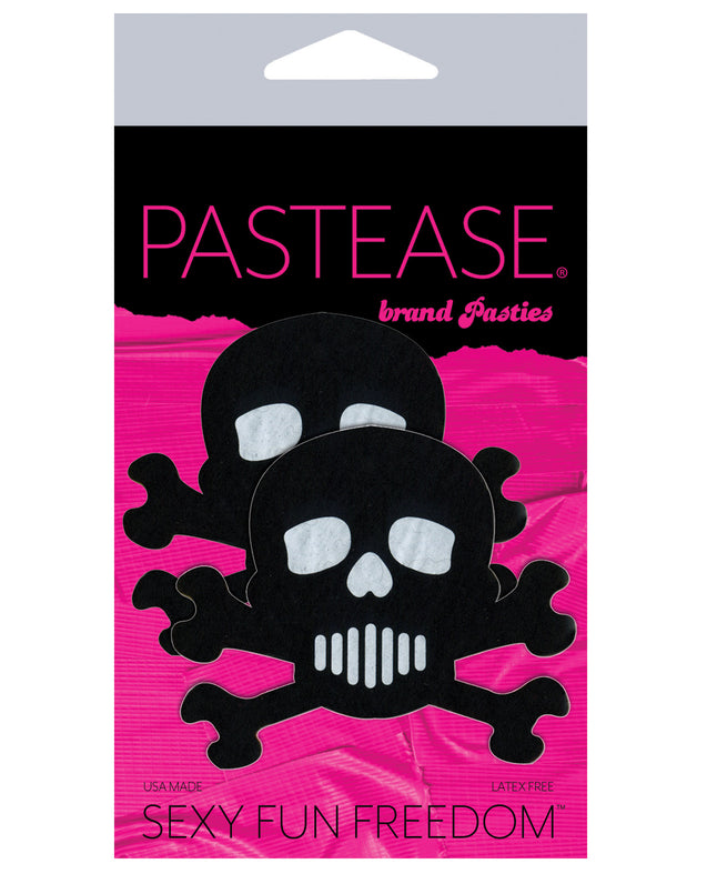 Pastease Skull - Black/White O/S