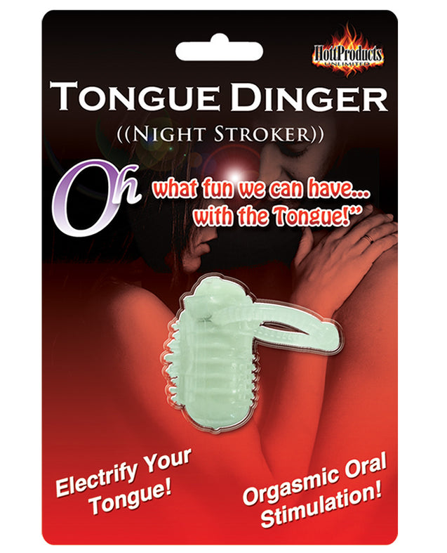 Tongue Dinger - Glow in the Dark Night Stroker
