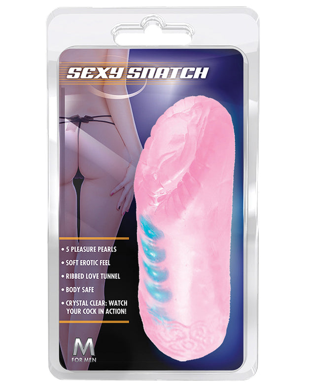 Blush M for Men Sexy Snatch - Pink