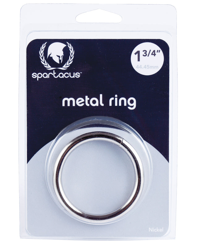 "Spartacus 1.75"" Nickel Cock Ring"