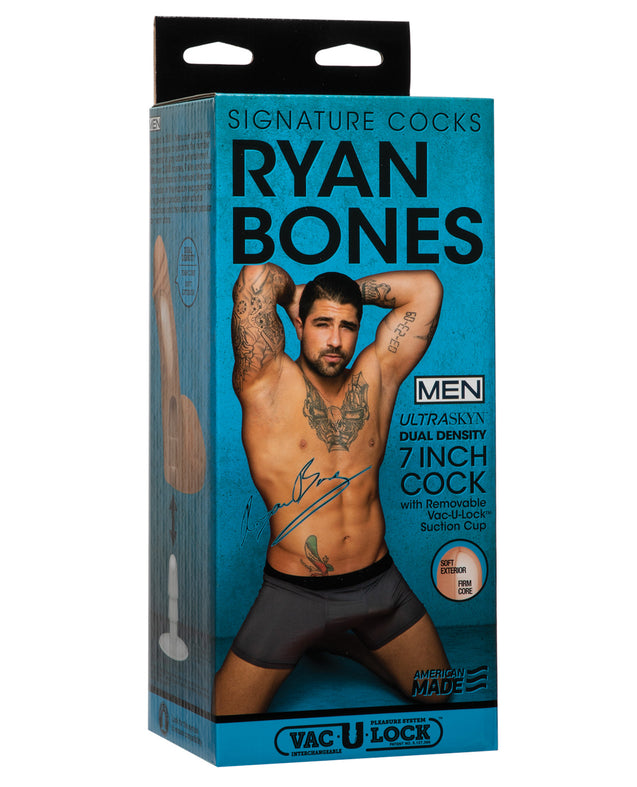 "Signature Cocks ULTRASKYN 7"" Cock w/Removeable Vac-U-Lock Suction Cup - Ryan Bones"
