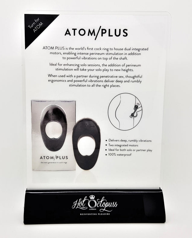 Promo Hot Octopuss Atom & Atom Plus Product Info Card
