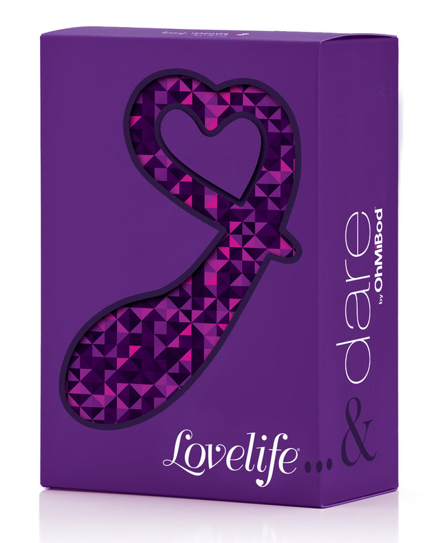 OhMiBod Lovelife Dare Curved Pleasure Plug - Purple