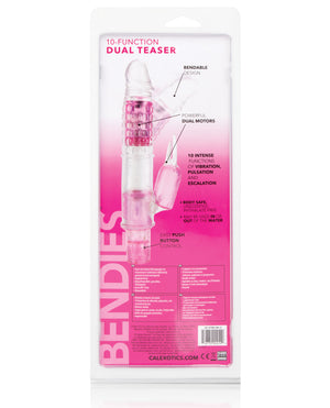 Bendies Dual Motor Dual Teaser Rabbit - 10 Function Pink