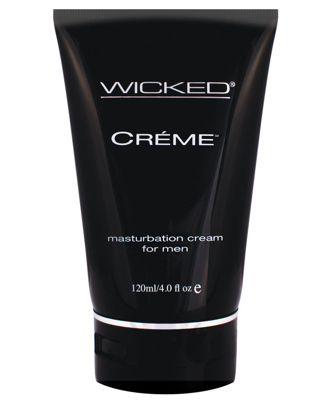 Wicked Sensual Care Creme Masturbation Cream for Men Silicone Based - 4 oz